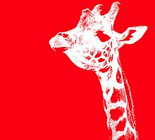 The Red Giraffe by mgardnerphotos
