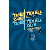 Time Travel Cafe Photographic Print