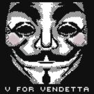Vendetta Pixel Art by tshirtmaker22