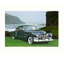 1949 Cadillac 6107 Sedanette III Art Print