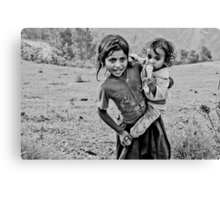 On the Hill in Tansen Canvas Print