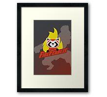 Fire Ferrets Framed Print