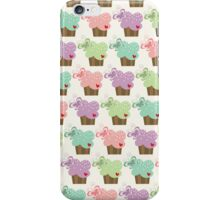 Sweet Pastel Cupcakes iPhone Case/Skin