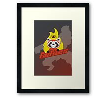 Future Industries Fire Ferrets Framed Print