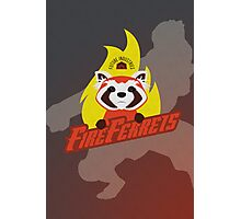 Future Industries Fire Ferrets Photographic Print