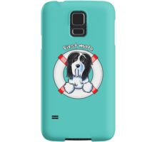 Bearded Collie :: First Mate Samsung Galaxy Case/Skin