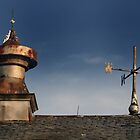 Barn vent &amp; Weather vane by Aaron Campbell