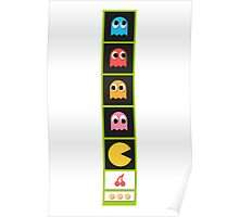 pac mans Poster