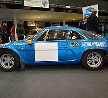 Alpine Renault A110 2338 GW 76 by Willie Jackson