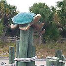 Sculpture of a Sea Turtle by BCallahan