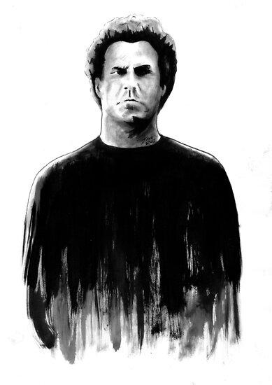 DARK COMEDIANS: Will Ferrell by Zombie Rust