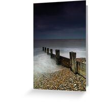 Where Souls Disappear Greeting Card