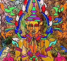 Cambodian Buddha by mgardnerphotos