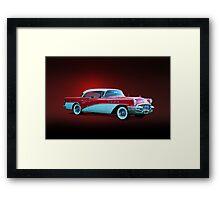 1955 Buick Century Framed Print