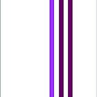 Purple Stripes by CanoeComsArt