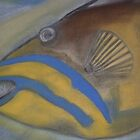 The Pastel Triggerfish by NICK COBURN PHILLIPS