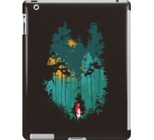 The woods belongs to me iPad Case/Skin
