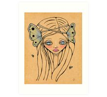 Butterfly Queen Art Print