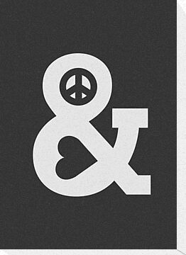 Peace and Love - Mono by Budi Satria Kwan