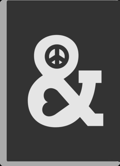 Peace and Love - Mono by Budi Satria Kwan