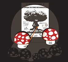 Power to the mushroom by Budi Satria Kwan