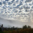 Clouds - Walwa Victoria by Bev Woodman