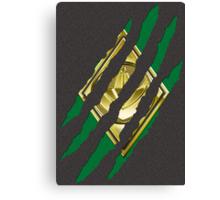Secret Identity - Green Ranger Canvas Print