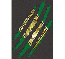 Secret Identity - Green Ranger Photographic Print
