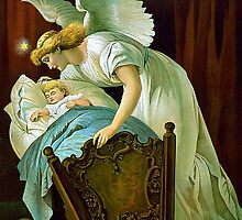 Angel And Baby by Tickleart