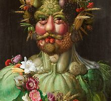 Giuseppe Arcimboldo - Vertumnus by TilenHrovatic