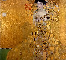 Gustav Klimt - Adele Bloch-Bauer I. by TilenHrovatic