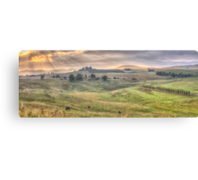 A Touch of Tuscany In The Snowy Mountains, Jingelic NSW/Walwa Victoria - The HDR Experience Canvas Print