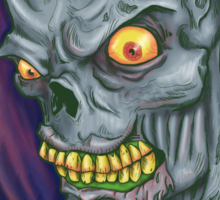 Bloodthirsty Zombie Sticker