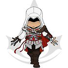 Assassin's Creed 2: Ezio Chibi by SushiKittehs