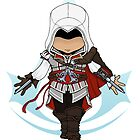 Assassin&#x27;s Creed 2: Ezio Chibi: Animus Edition by SushiKitteh&#x27;s Creations