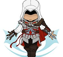 Assassin's Creed 2: Ezio Chibi: Animus Edition by SushiKittehs
