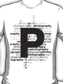 Photography text_07 T-Shirt