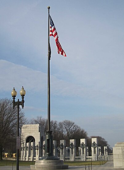World War II Memorial - Washington D.C. by Bine