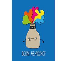 boom headshot Photographic Print
