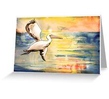 Pelican Spirit Greeting Card