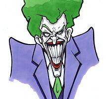 The Joker by jarofcomics