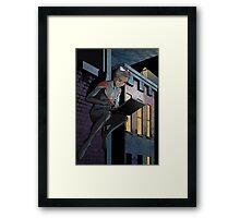 Ultimate Spider-Man Miles Morales Framed Print