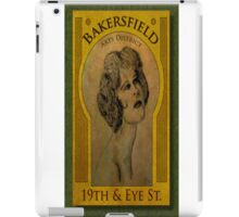 Bakersfield Arts District iPad Case/Skin