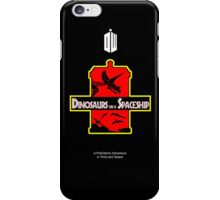 Dinosaurs on a Spaceship iPhone Case/Skin