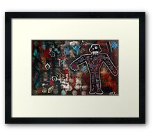 No Fear of Perfection Framed Print
