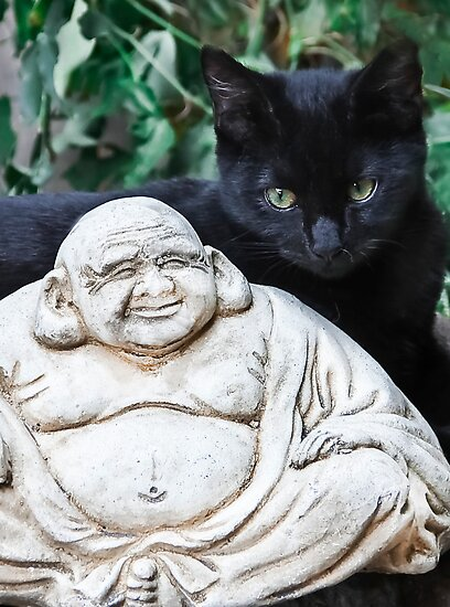 Buddha Smiles For Suki by heatherfriedman