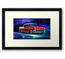 1956 Chevrolet Bel Air III Framed Print