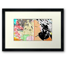 turn of events or when the cows come home to roost 3 Framed Print