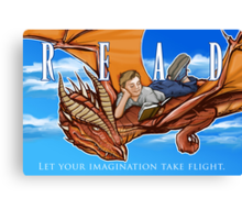 Imagination Take Flight Canvas Print