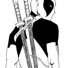 Deadpool by Monochrome-Bib